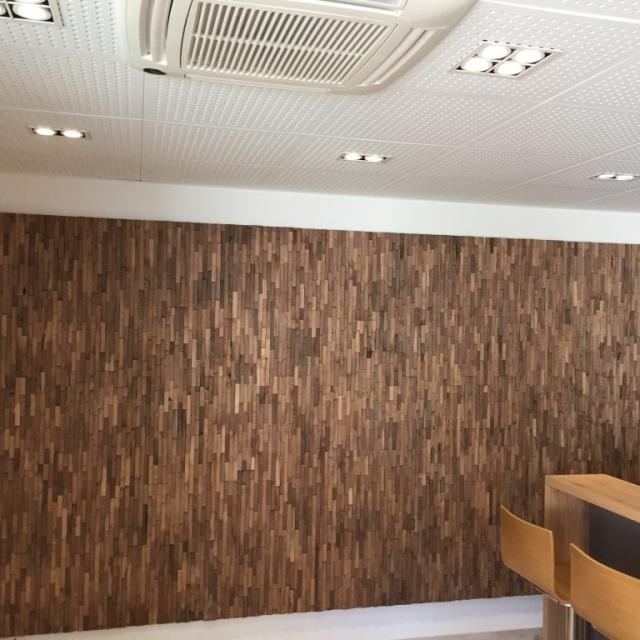 Rivestimento in legno parete